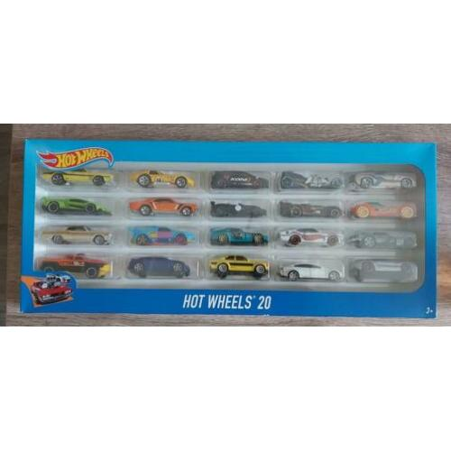 Hotwheels 20 Set incl Gele Ford Escort (HOT WHEELS)