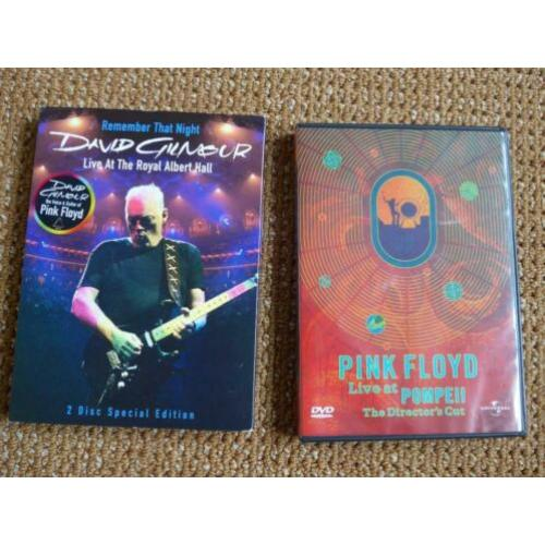 Live: David Gilmour Royal Albert Hall + Pink Floyd Pompeii