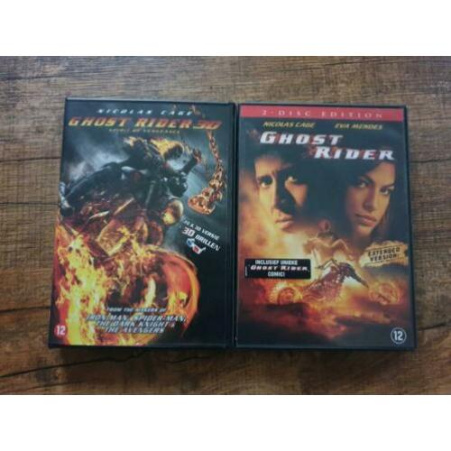 Dvd film ghost rider 3d spirit of vengeance 2 disc marvel
