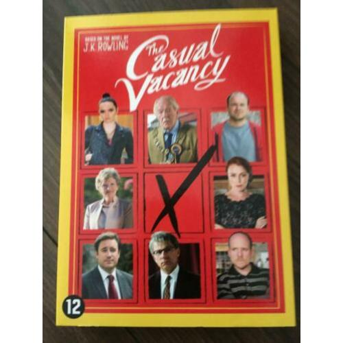 2-DVD The Casual Vacancy BBC/HBO miniserie J.K. Rowling