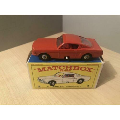 Matchbox Lesney Nr.8 Ford Mustang (zeldzaam model)